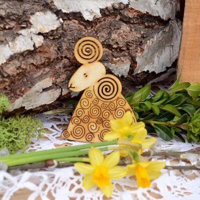 Baranek wielkanocny - dekoracje i ozdoby