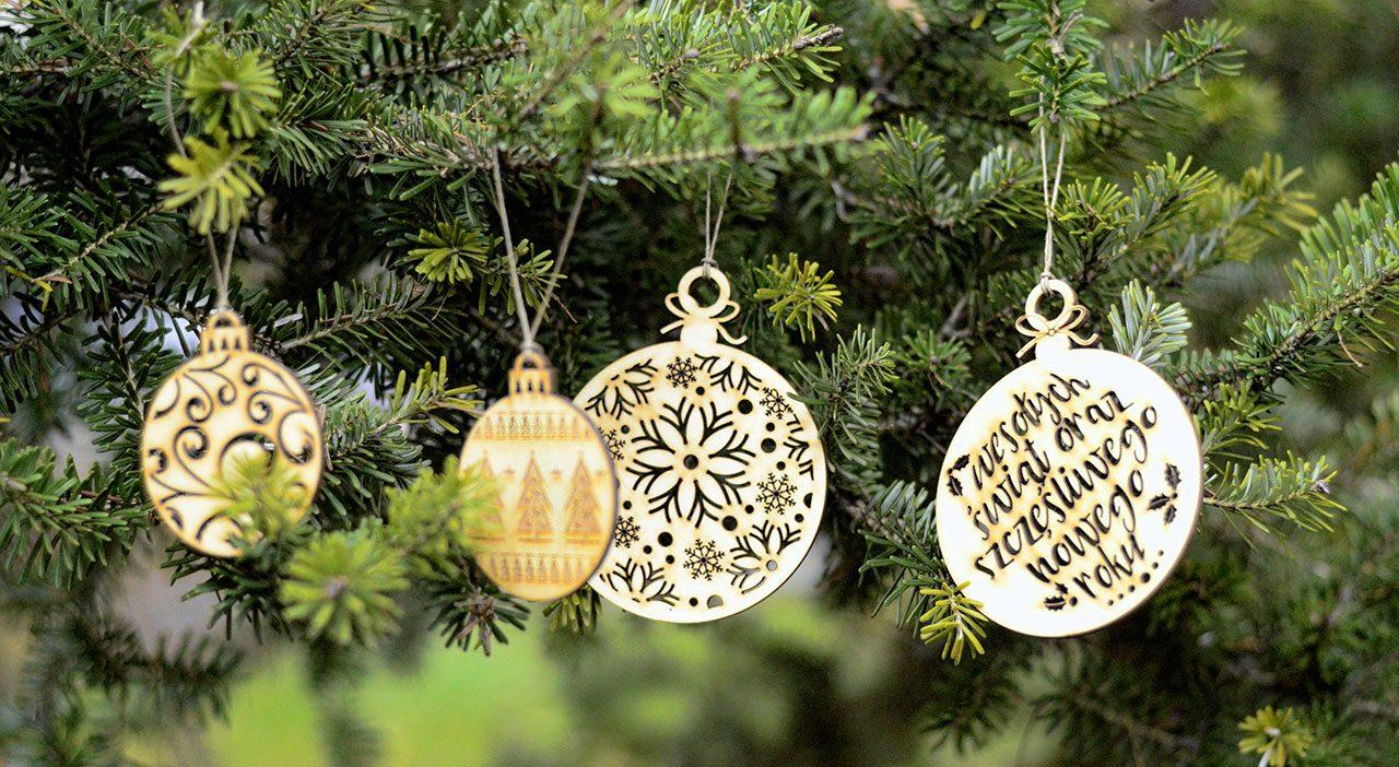 Bombki nachoinkę - świąteczne dekoracje ibożonarodzeniowe ozdoby