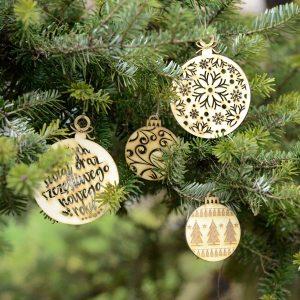 Bombki na choinkę - świąteczne dekoracje i bożonarodzeniowe ozdoby