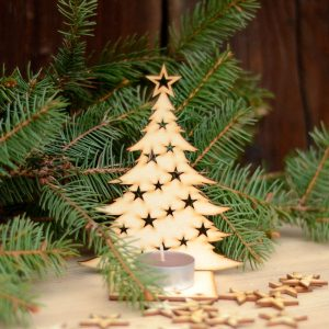 Choinka klasyczna - bożonarodzeniowe dekoracje i ozdoby