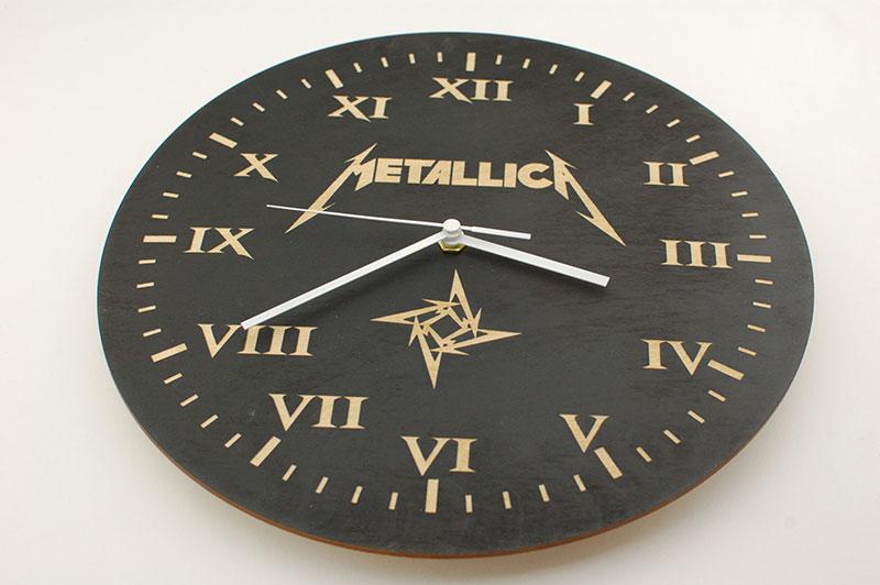 Metallica - zegar ścienny zTwoim projektem