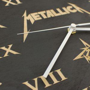 Metallica - zegar ścienny z Twoim projektem