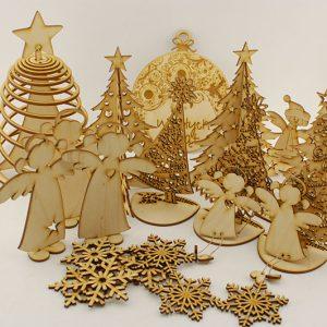 Świąteczne, bożonarodzeniowe ozdoby
