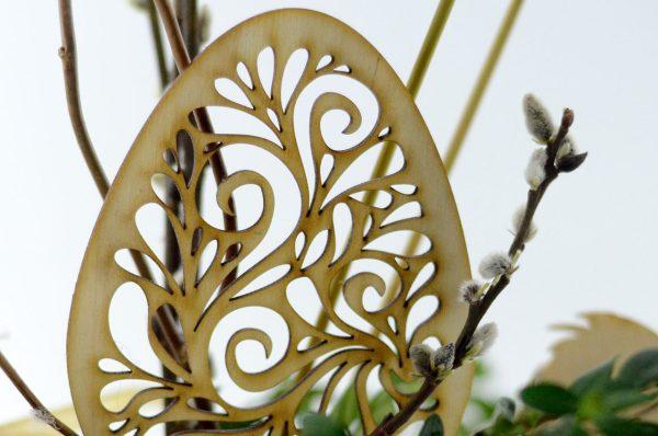 Pisanki ażurowe - wielkanocne dekoracje i ozdoby