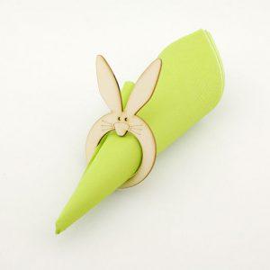 Serwetnik wielkanocny - króliczek, pierścień