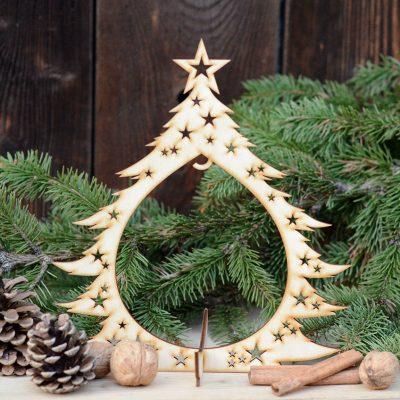 Stojak na bombkę - dwustronny - świąteczne dekoracje i ozdoby