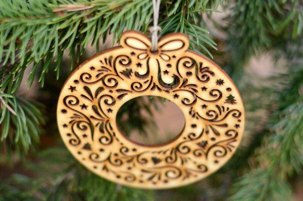 Wianuszek świąteczny - bożonarodzeniowe ozdoby