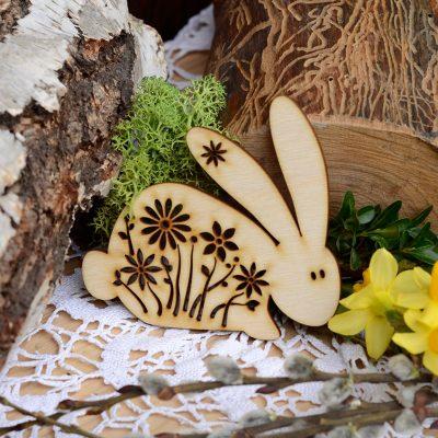 Zajączek wielkanocny - dekoracje i ozdoby