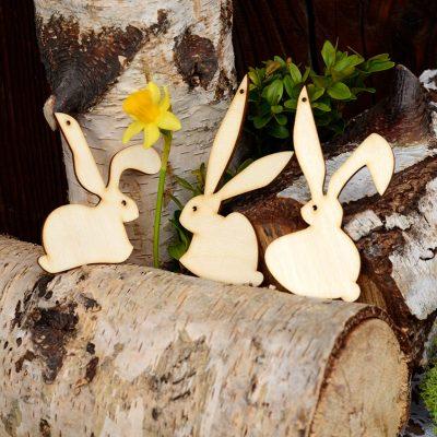 Zajączki wielkanocne - dekoracje i ozdoby świąteczne