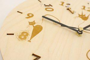 Zegar ścienny z Twoim projektem