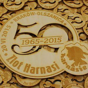 Zlot Harnasi z okazji 50 lecia Szczepu